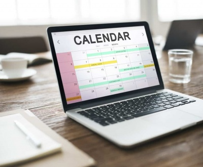 content calendar for your blog